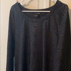 Ann Taylor Factory Textured Shimmer Top